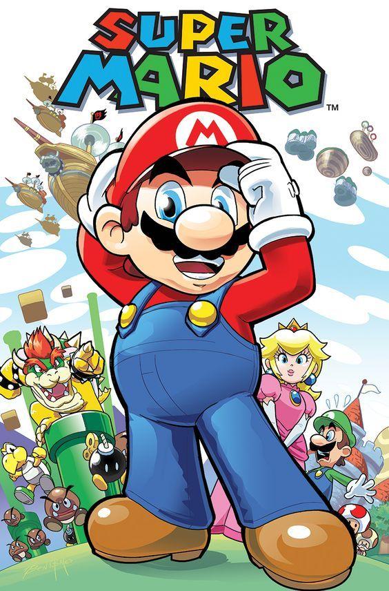 Super Mario By Benbates Deviantart Com On Deviantart Desenhos