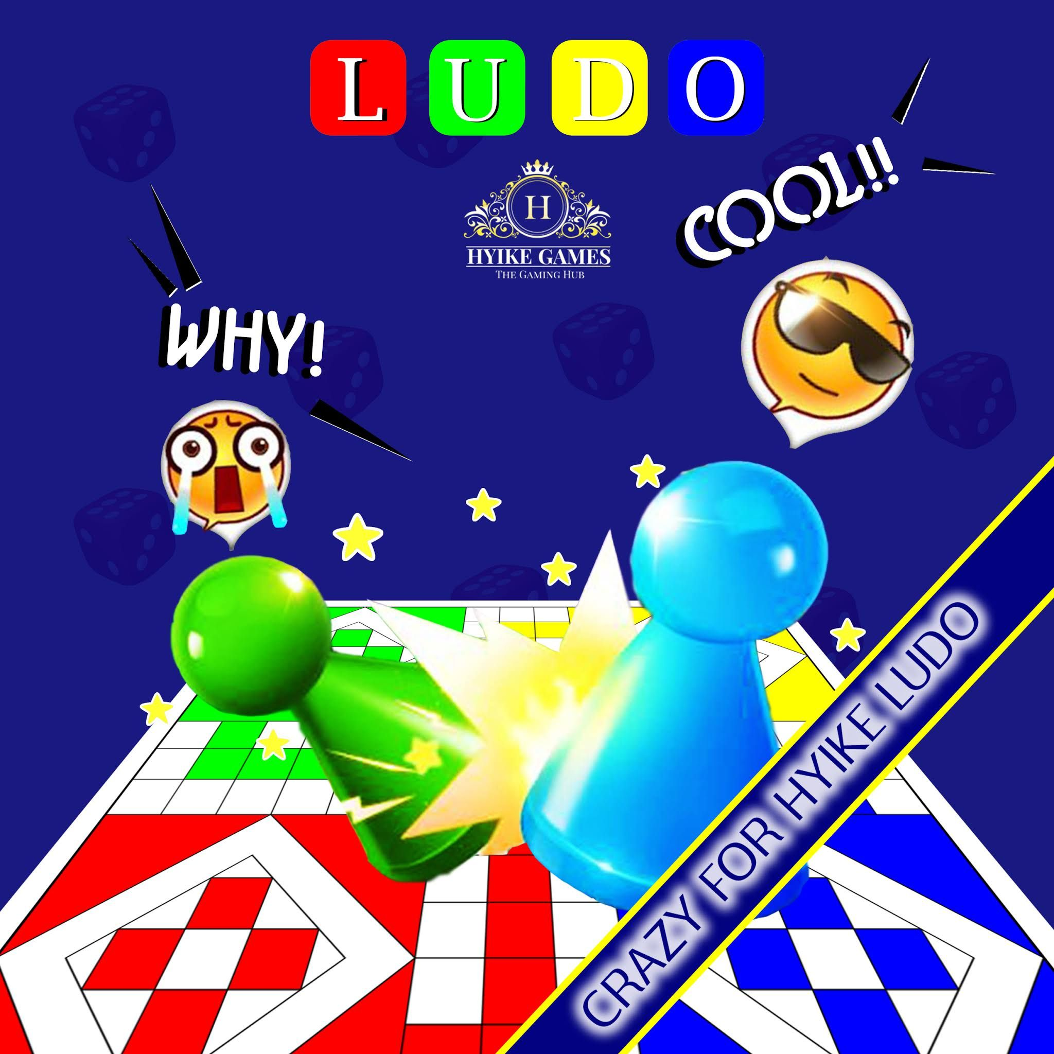HYIKE's LUDO The game for crazy LUDO Lovers.. Download