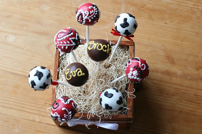Western Themed Cake Pops | Flickr - Photo Sharing!