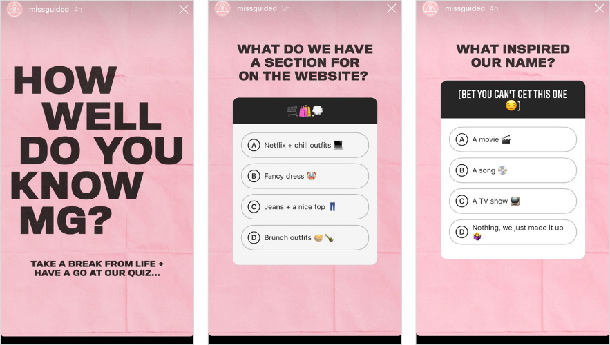 How To Use Quiz Stickers On Instagram Stories Later Blog Instagram Story Instagram Instagram Story Template