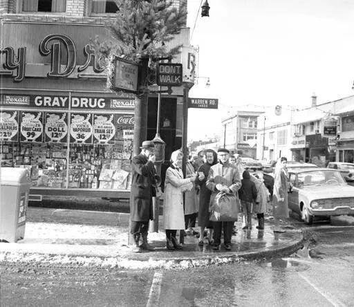 SW Corner Of Warren/Detroit...1959