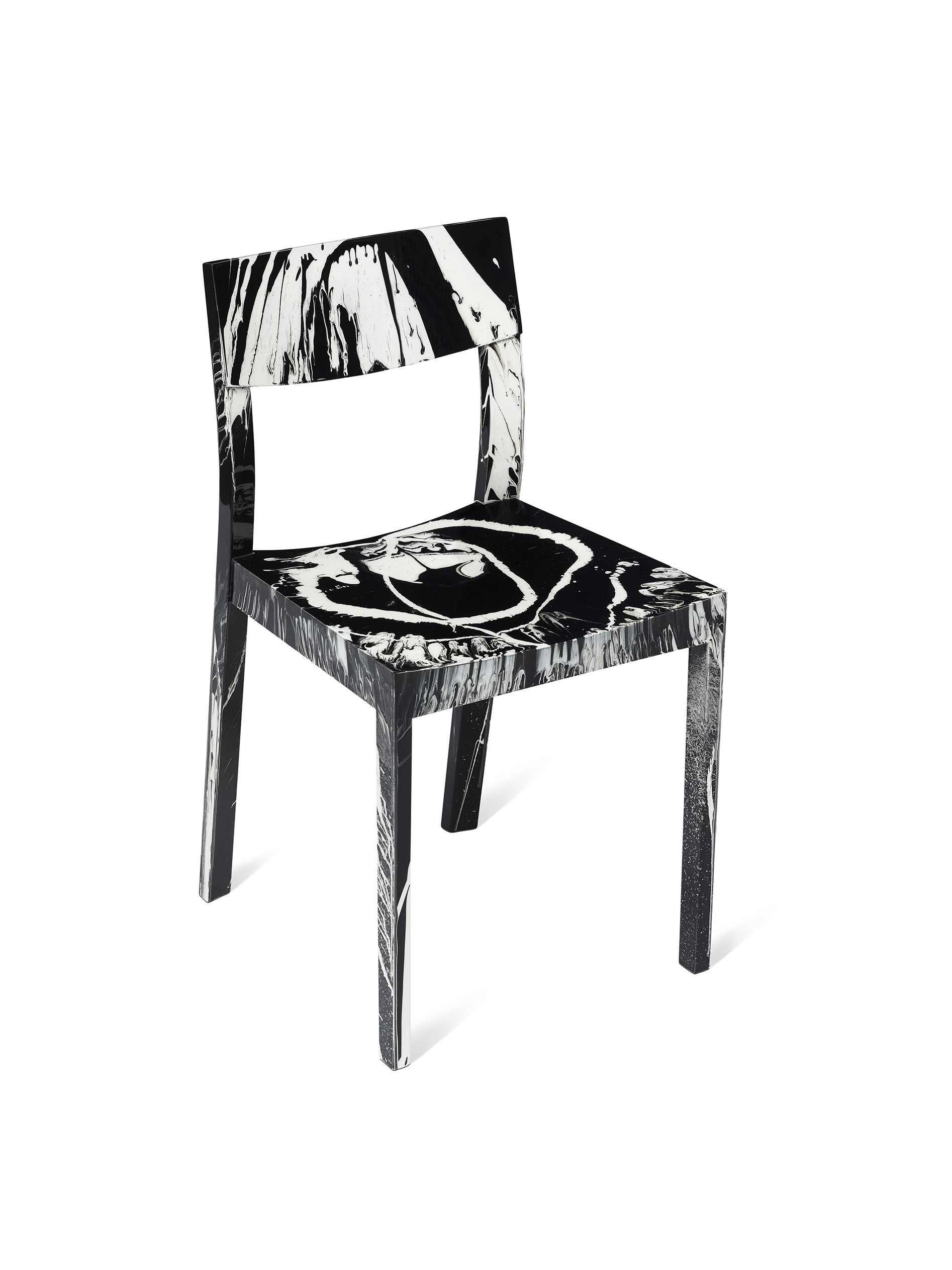 Damien Hirst U2013 Beautiful It Get Easier Every Time Spin Chair
