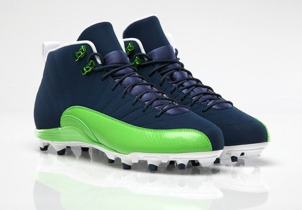 Air Jordan 12 Cleats For Dez Bryant And Earl Thomas Unveiled