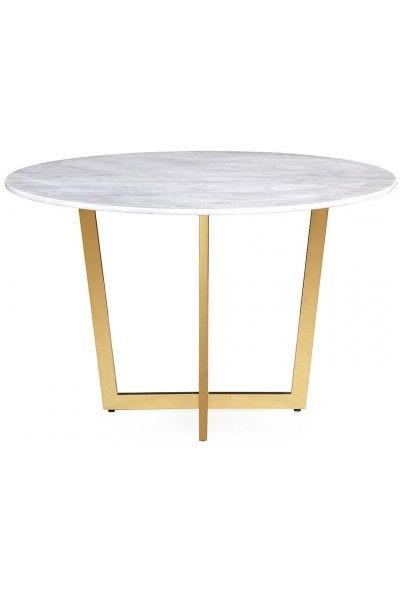 Maxim White Marble Dining Table Tov G5463 Tov Furniture Dining Table Marble Table Dining Table