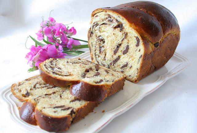 Ceresnicka na torte: ČOKOLÁDOVÁ BABKA - CHOCOLATE BABKA