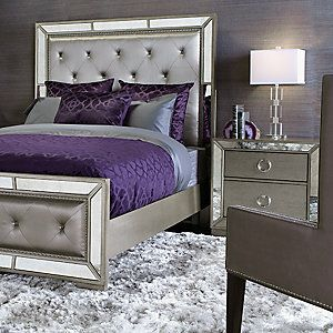Silver And Purple Silver Bedroom Silver Bedroom Decor