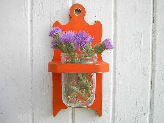 shabby chic orange