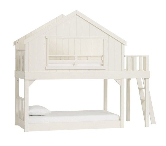 Pottery Barn Kids Has Bunk Beds For Designed Safety Durability And Style