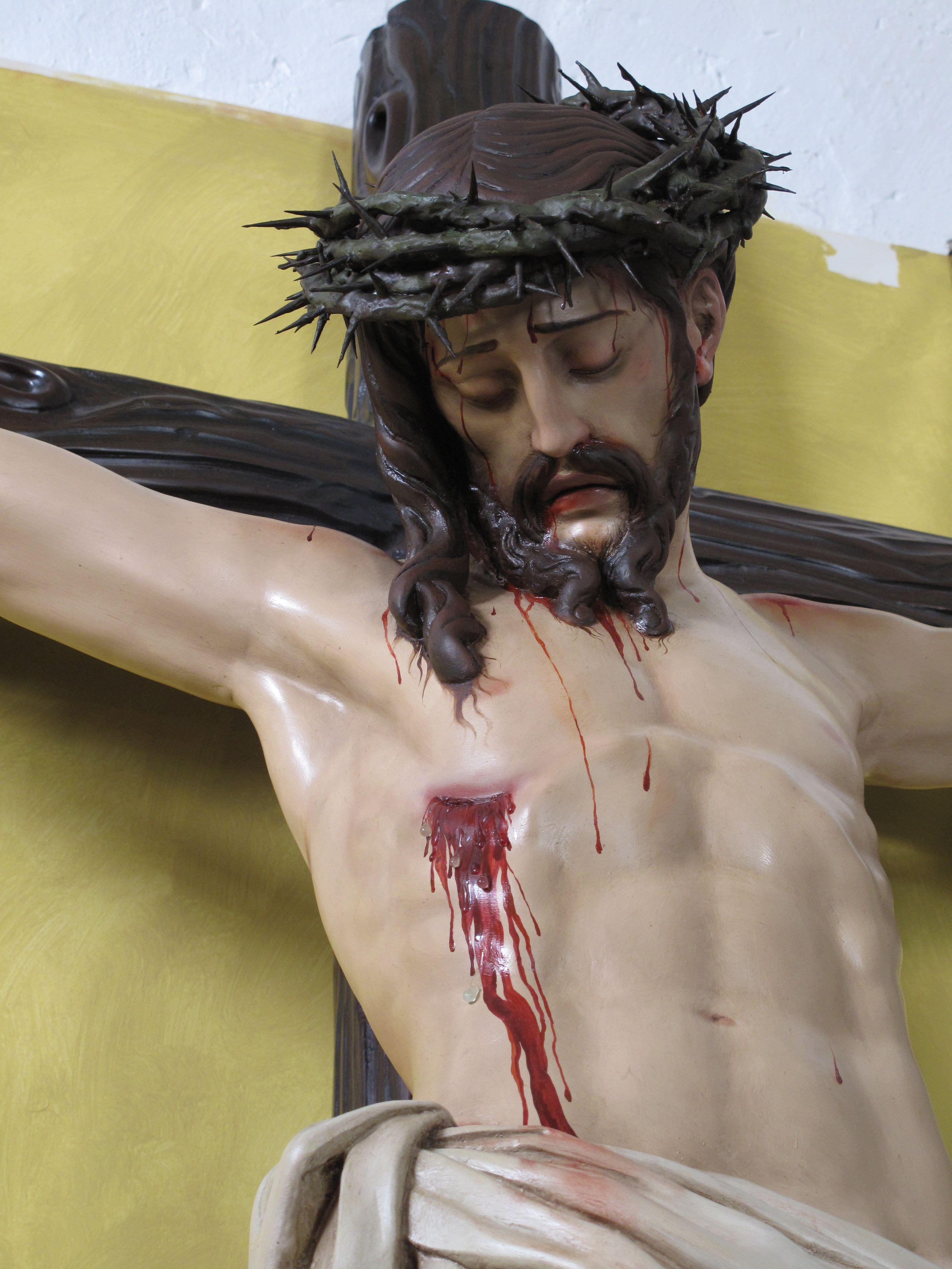 cristo crucificado de la parroquia de la Asunción de Martos