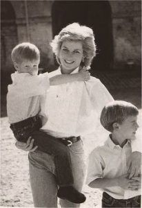 Mom and son photo. Princess-Diana-with-Prince-William-and-Prince-Hary Motherhood. post partum depression. House of Kerrs blog