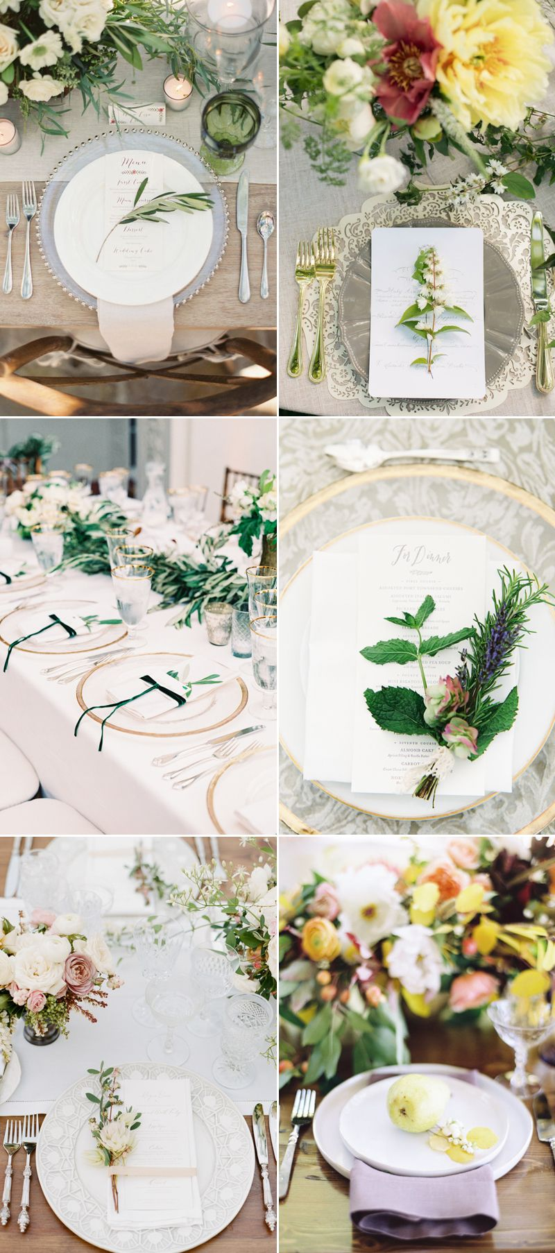 12 Refreshing and Utterly Romantic Spring Place Setting Ideas ...