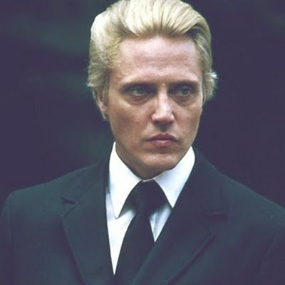 """""""Chris Walken was really drunk, he said he was tired of his hair, he'd dyed it blond, and now it needed retouching.""""- 3/14/85 Warhol diary entry"""