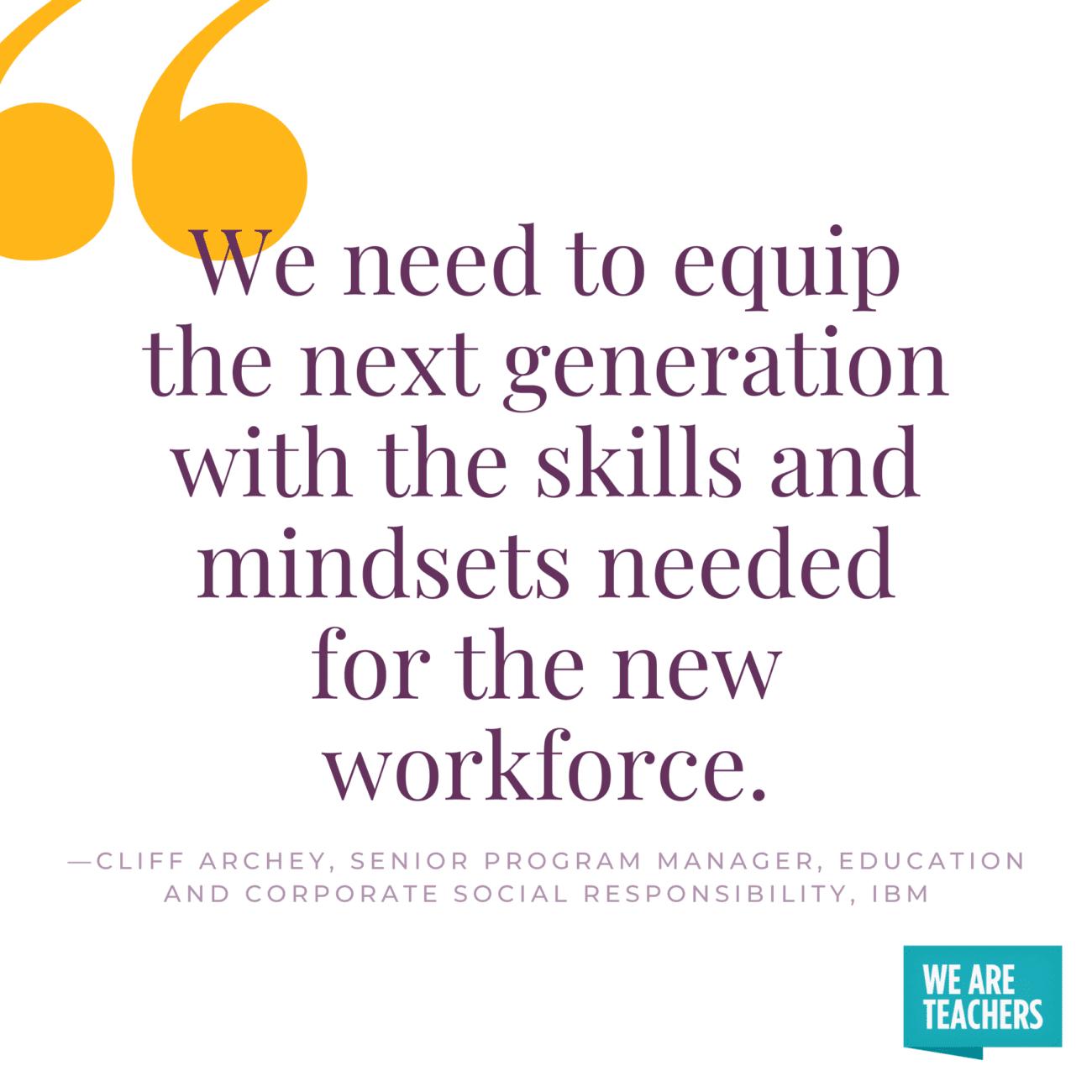 Future Jobs Require Emerging Skills High Schools Need To Teach Them Technology Skills We Are Teachers Teaching