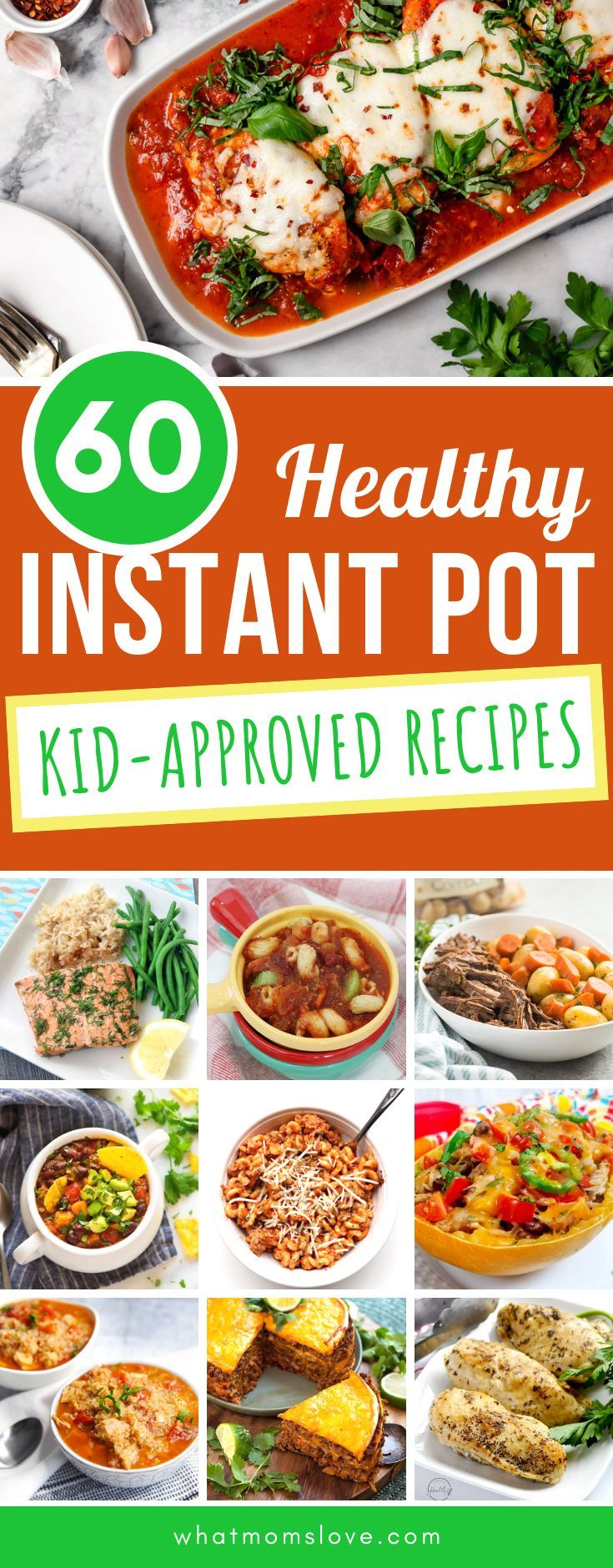 60 Kid-Friendly, Healthy Instant Pot Recipes Your Whole Family Will Enjoy images