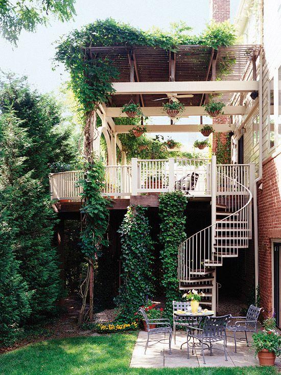 Raised Patio With Steps: Deck Designs: Ideas For Raised Decks