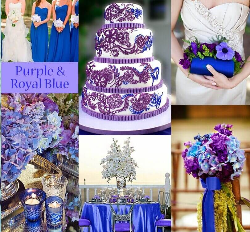 10 Of The Best Colors Matching Royal Blue Purple Wedding Decorations Wedding Colors Purple Wedding Colors