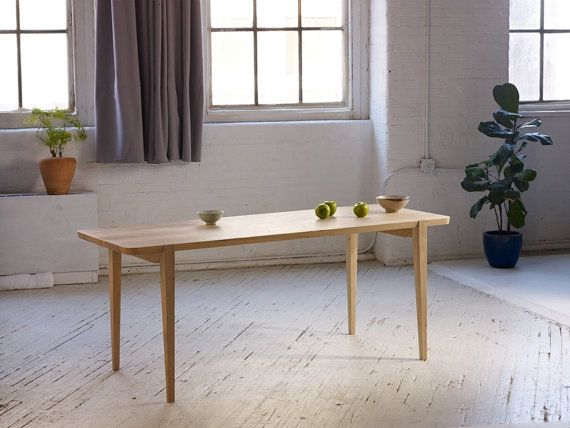 Oslo Dining Table, Made In Portland, Oregon By ANDREW MOE;  Scandinavian Inspired