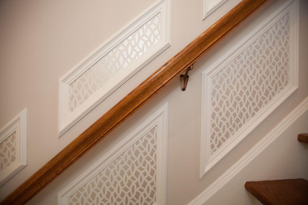 Design Projets Brossard | Decoration escalier, Caisson mural, Déco maison