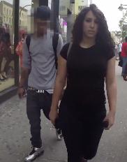 Essa é a mulher que recebeu mais de 100 cantadas em 1 dia andando em NY