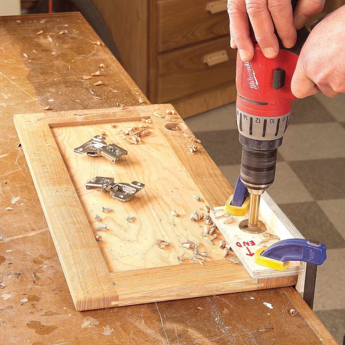 euro-hinge drilling jig | diy | woodworking, antique
