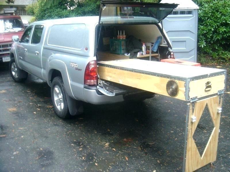 Diy Truck Bed Storage Ideas Truck Bed Storage Homemade Pickup