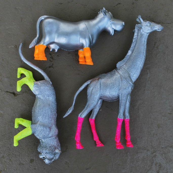DIY Painted Animals