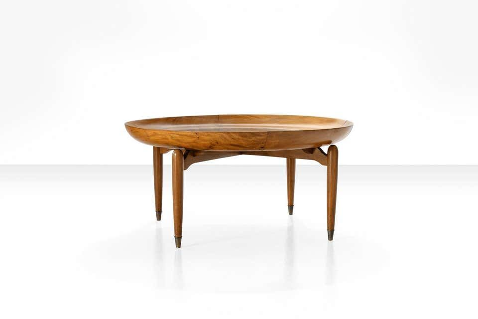 For Sale On 1stdibs Giuseppe Scapinelli Round Coffee Table In