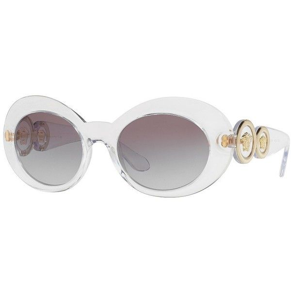 2739dcfd5c Versace 53MM Oval Sunglasses ( 265) ❤ liked on Polyvore featuring  accessories
