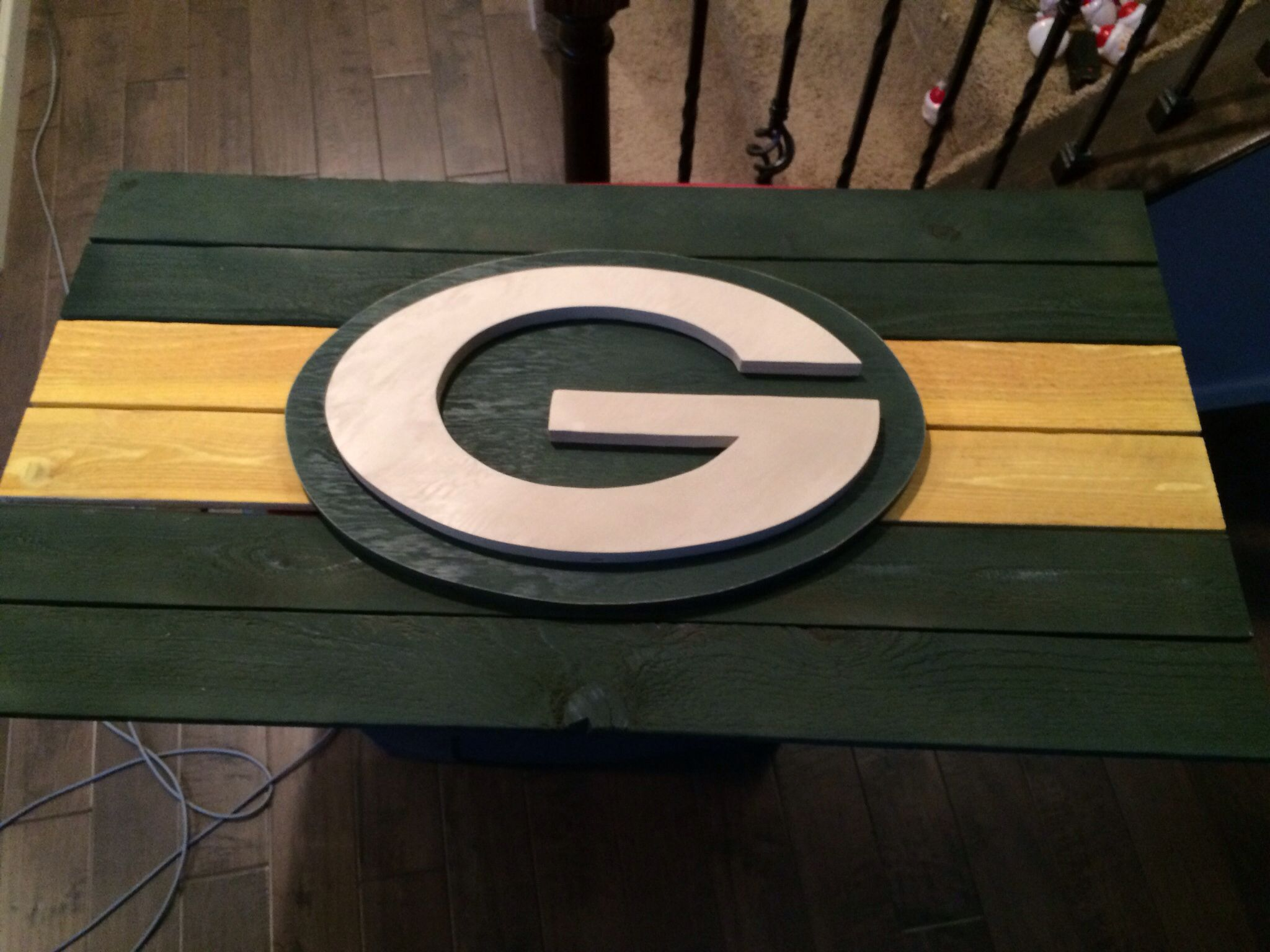 Green Bay Packers Sign 150 For Sale In The Denver Metro Area Https Www Facebook Com Pages W Green Bay Packers Crafts Weekend Woodworking Projects Pallet Art