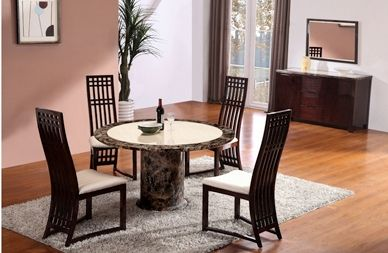 Caesar Round Dining Table And 4 Caesar Chairs Furniture Dining Table Dining Table Chairs Dining Table