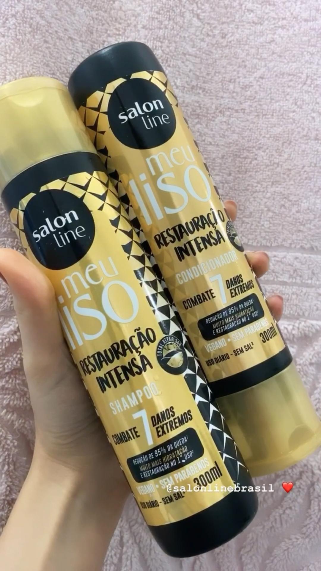 @salonlinebrasil ❤️ #salonline #resenha #cosmeticos #cabelos #spaday #cuidadoscomocabelo