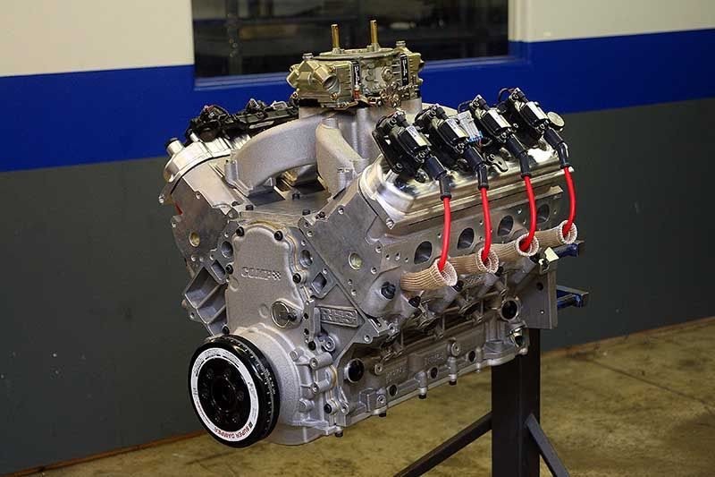 800 Horsepower Carbureted LS7 Ripping on the Dyno   Engines