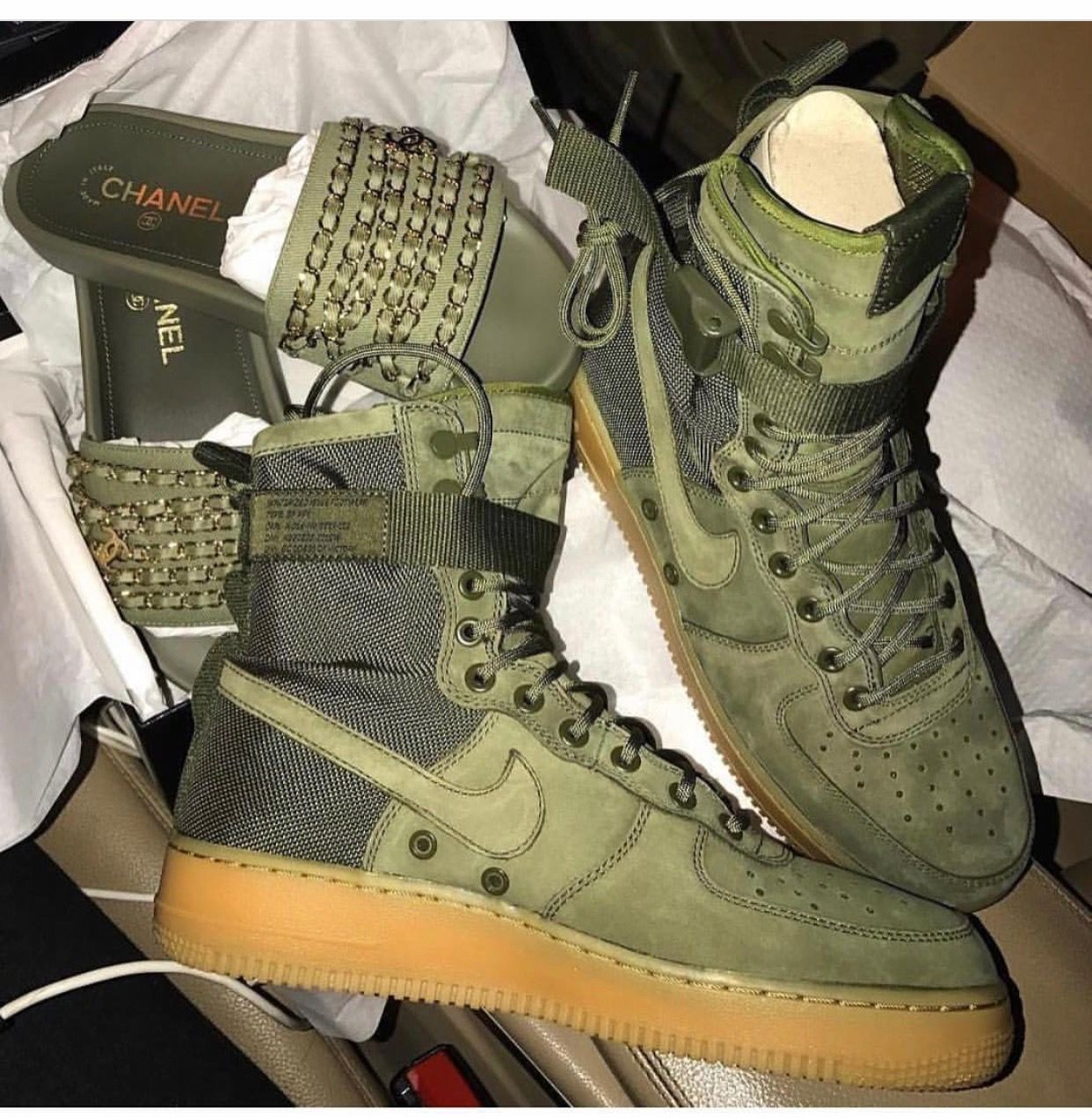 Details about Nike SF Air Force 1 'Desert Camo' High Tops: Size 10