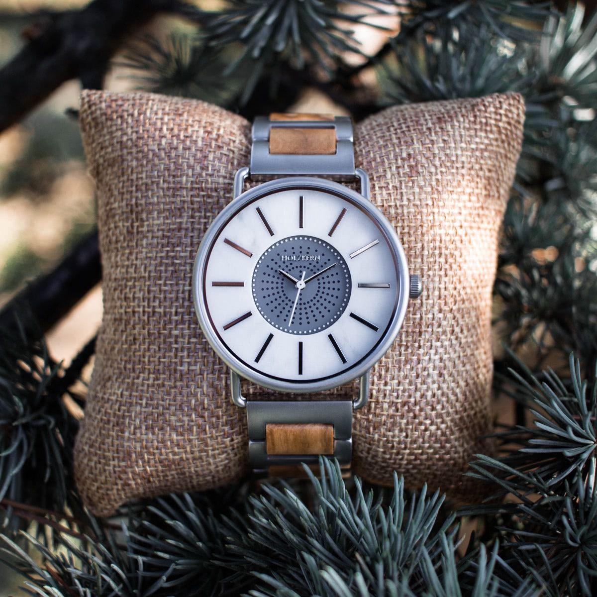 Lichtsäule Olivemarmor Just Cool Pinterest Wood Watch