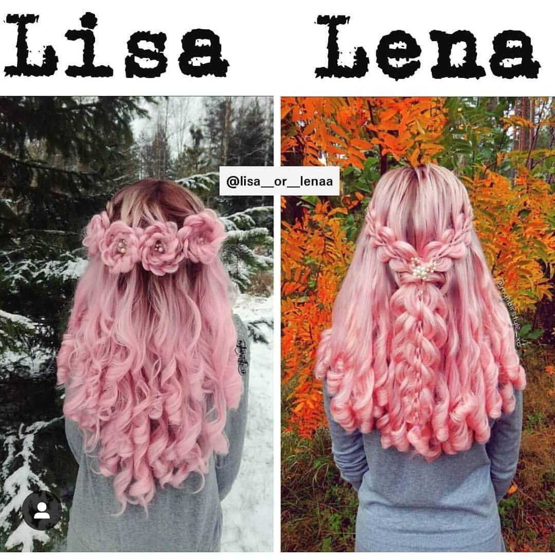 Lisa or Lena? I pick Lisa! 😍 Unicorn Beauty, Unicorn