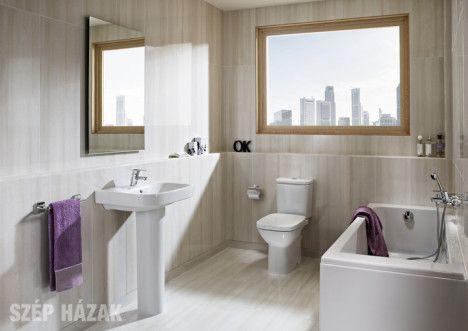 06b18fb54489 Lakberendezési tippek - Szép Házak Online | lakberendezés | Bathroom ...