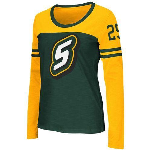 Colosseum Athletics™ Women's Southeastern Louisiana University Hornet Football Long Sleeve