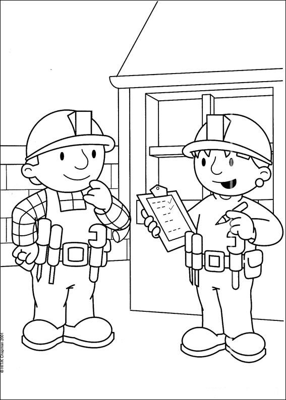 nascar coloring pages | bob the builder coloring pages | Coloring ...