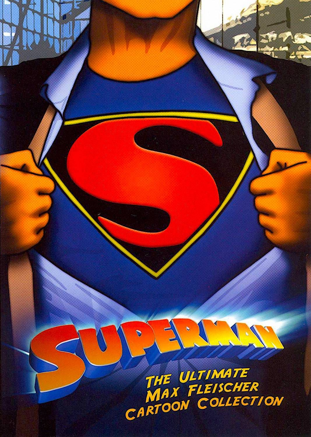SUPERMAN THE ULTIMATE MAX FLEISCHER CARTOON COLLECTION DVD