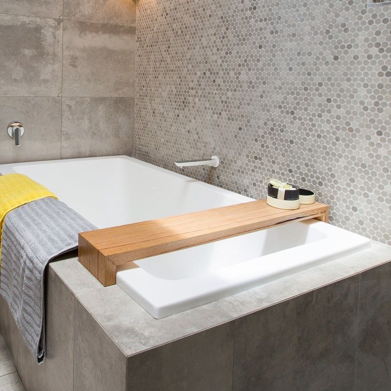 Recycled Timber Bath Caddy Available in a range of sizes 100 ...