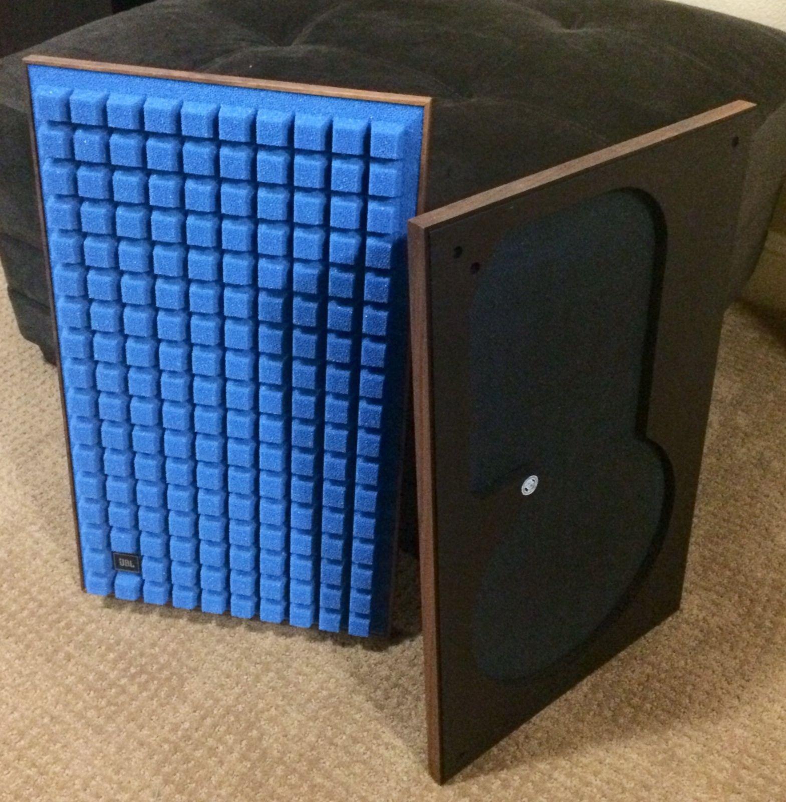 Pair Of Perfect Reproduction Speaker Grilles For Jbl L100