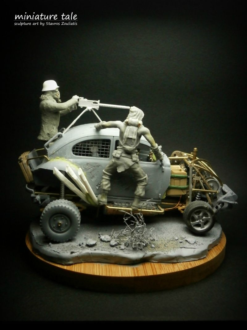 """""""Warboys"""" by Stavros Zouliatis Mad max movie, New model"""