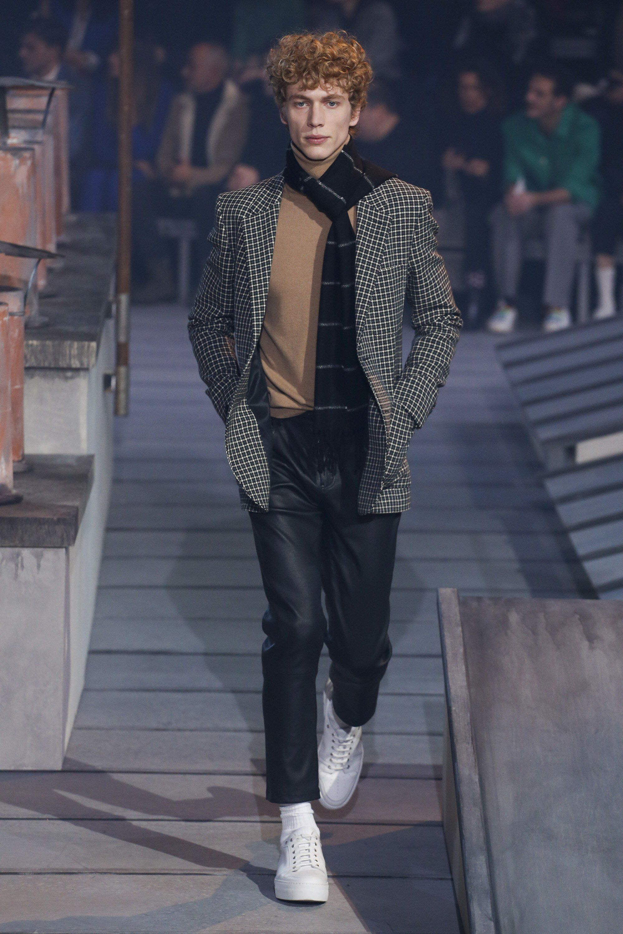 Ami fall menswear fashion show collection fresh from runway