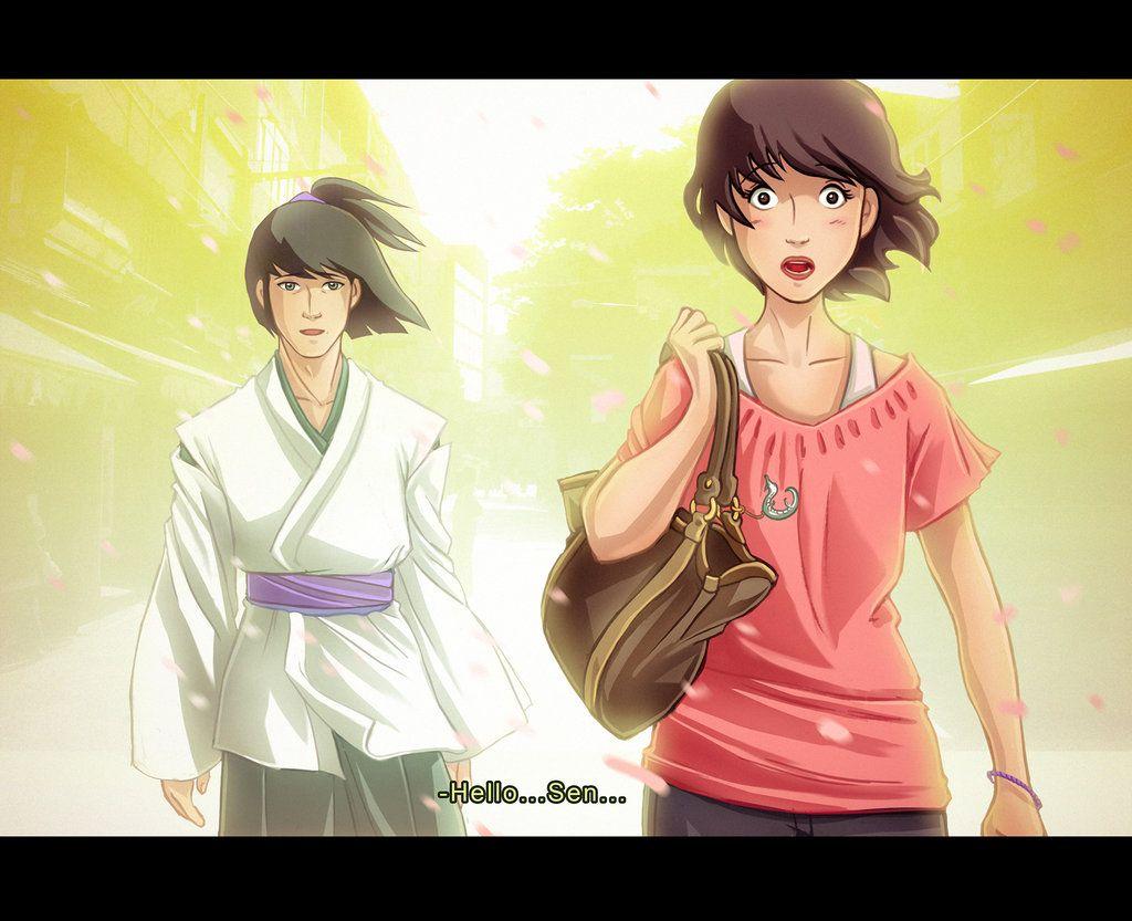 spirited away chihiro meet haku