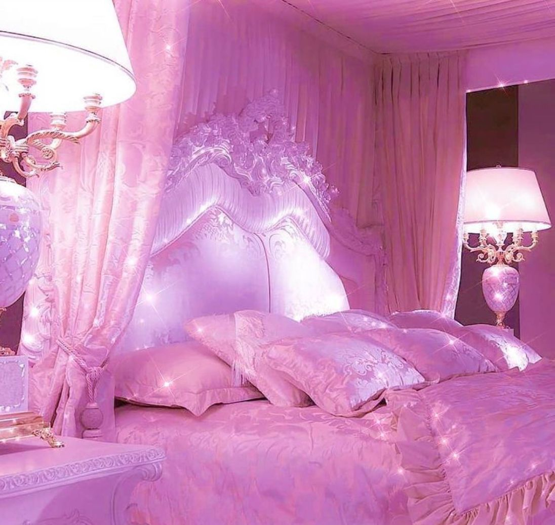 Pin By Batul Fares On Aesthetics Pink Room Luxurious Bedrooms Pastel Pink Aesthetic Luxury pink aesthetic room