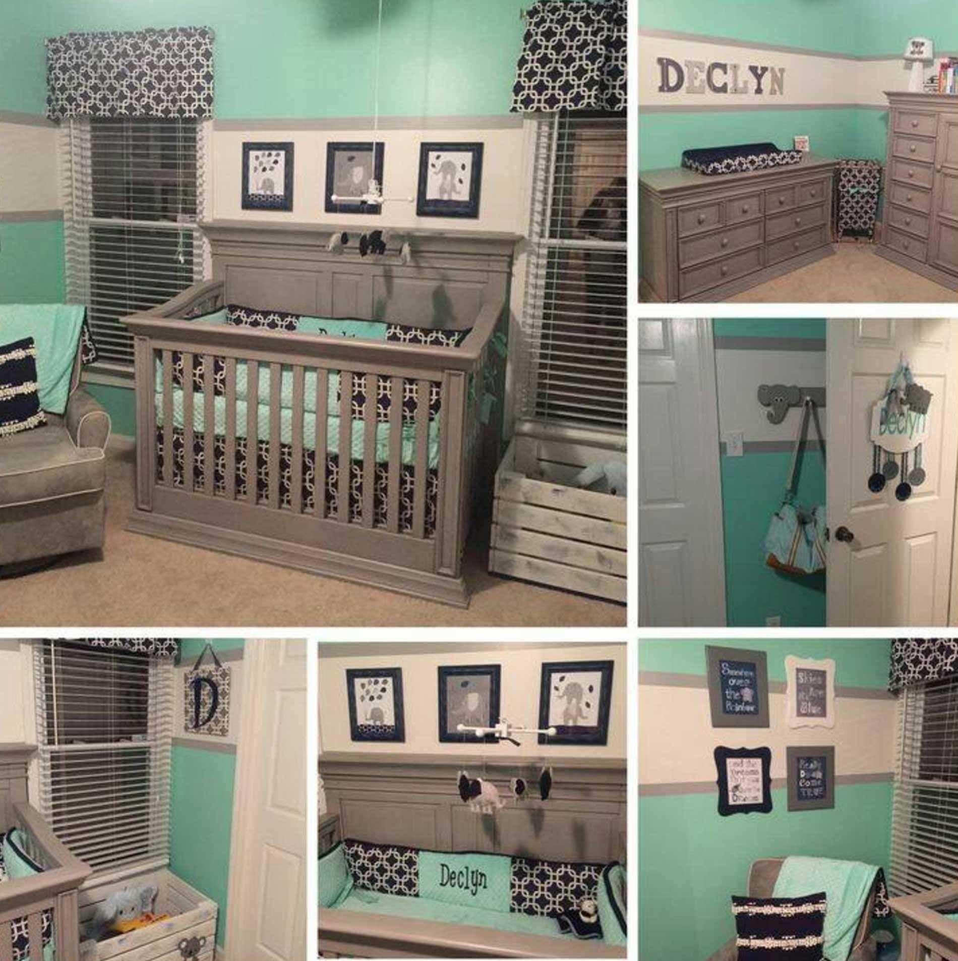 exceptional Tiffany Blue Nursery Ideas Part - 9: Tiffany Blue Nursery