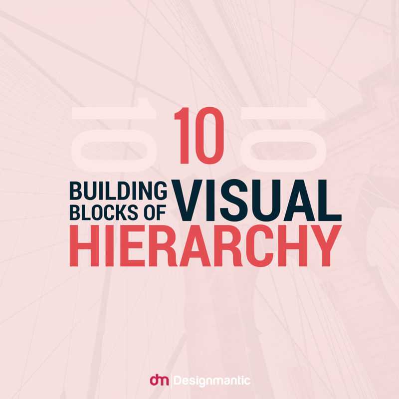 DesignMantic Hub - 10 Building Blocks of Visual Hierarchy   Visual...