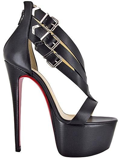 16012676698 Christian Louboutin Charleze 160 calf black. Spring Summer 2013 ...