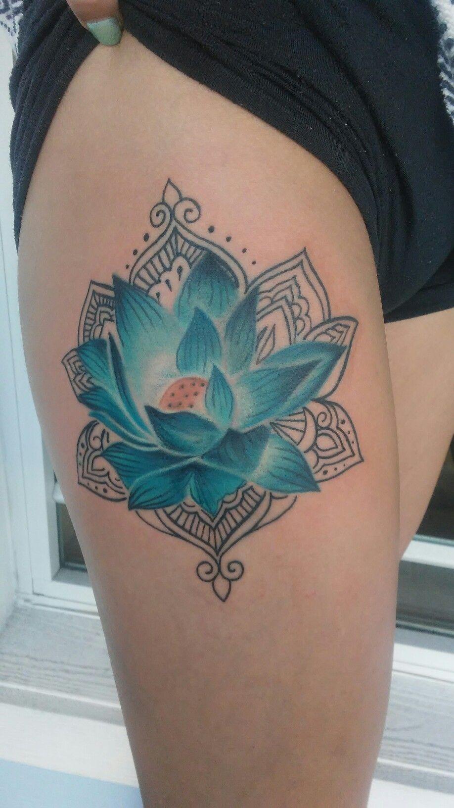 Cute Lotus Flower Tattoo Tattoo Work By Rob Presley Www