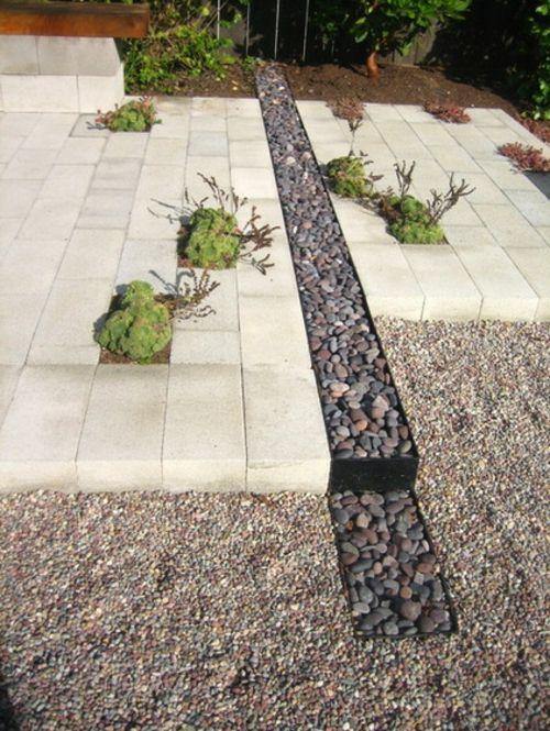 10 Losungen Fur Feuchte Erde Gartengestaltung Landschaftsbau Mit Steinen Garten Und Garten Landschaftsbau